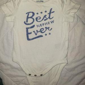 Baby Gap onesie